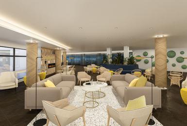 Living room- Refurbished in 2020 AluaSoul Palma (Adults Only) Hotel Cala Estancia, Mallorca