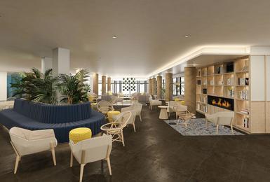 Lobby- Refurbished in 2020 AluaSoul Palma (Adults Only) Hotel Cala Estancia, Mallorca