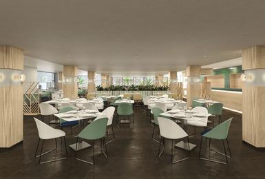 Buffet restaurant- Refurbished in 2020 AluaSoul Palma (Adults Only) Hotel Cala Estancia, Mallorca