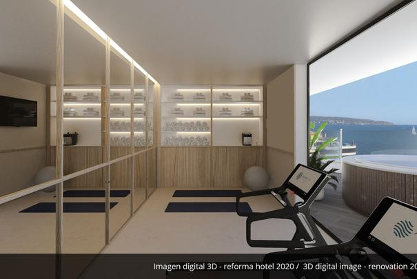Gym- Refurbished in 2020 AluaSoul Palma (Adults Only) Hotel Cala Estancia, Mallorca