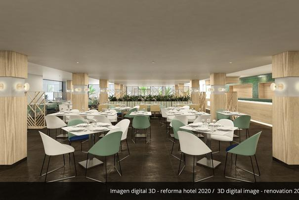 Buffet restaurant- Refurbished in 2020 AluaSoul Palma (Adults Only) Hotel Cala Estancia, Mallorca