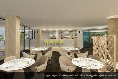 Bar- Refurbished in 2020 AluaSoul Palma (Adults Only) Hotel Cala Estancia, Mallorca