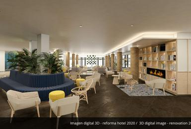 Common areas- Refurbished in 2020 AluaSoul Palma (Adults Only) Hotel Cala Estancia, Mallorca