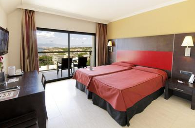 Twin Room with Side Sea View AluaSoul Palma (Adults Only) Hotel Cala Estancia, Mallorca