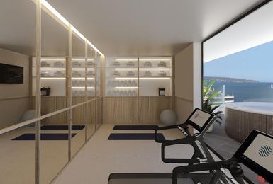 Gym- Refurbished in 2020 AluaSoul Palma (Adults Only) Hotel Cala Estancia, Mallorca